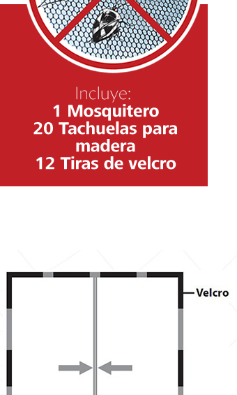 Malla Cortina Mosquitero Magn Tico Anti Insectos Magic