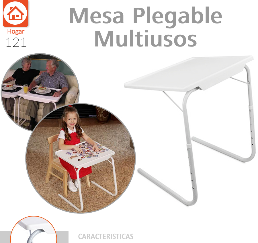 Multiusos 6altura269 Practica Portatil Mesa Plegable Mate 0 Table E9IDH2